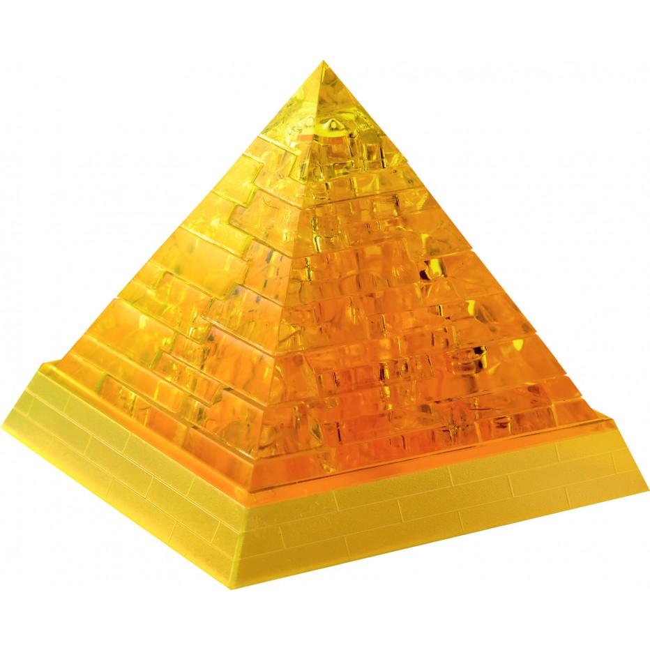 Pyramide en or crystal puzzle 3d r de jeux - Dessin de pyramide ...