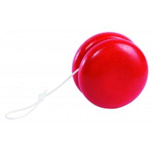 Yo-Yo en bois Rouge