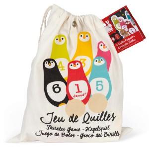 Jeu de Quilles Pingouins