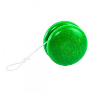 Yo-Yo en bois Vert