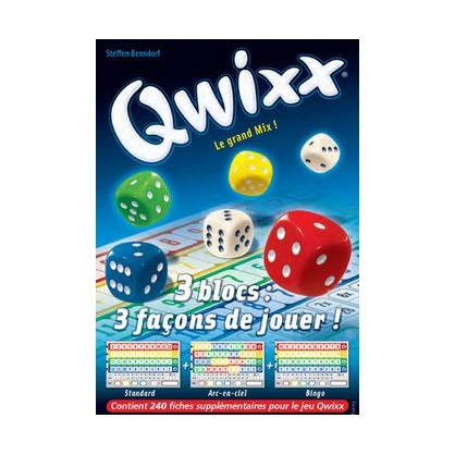 Qwixx Le Grand Mix Recharge 3 Blocs