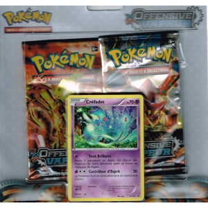 Pack 2 boosters + Carte Promo - Pokemon Offensive Vapeur XY