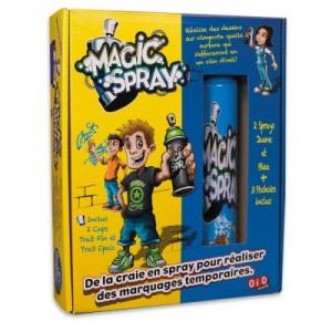 Magic Spray Jaune et Bleu - Craie en Bombe