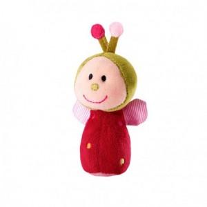 Liz la coccinelle - Mini Hochet Clochette