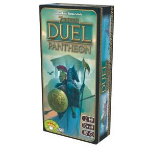7 Wonders Duel Extension Pantheon