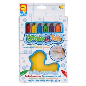 6 Crayons pour le Bain