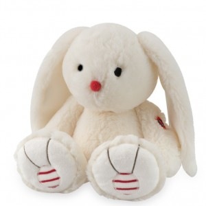 Lapin Ivoire Medium Collection Rouge