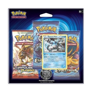 Pack 3 Boosters Pokemon Y12 Evolutions