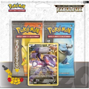 Pack 2 boosters + Carte Promo - Pokemon Generations
