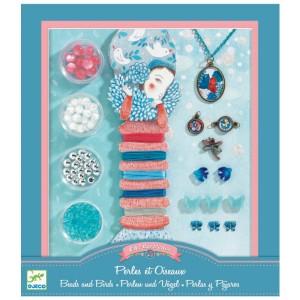 Kit de bijoux - Perles et Oiseaux