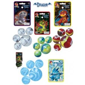 Sachet de billes 20+1 - Dragons