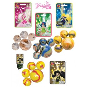 Sachet de billes 20+1 - Fairies