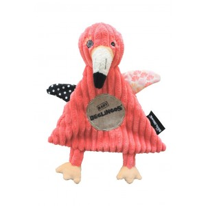 Doudou Plat Flamingos - Le Flamant Rose