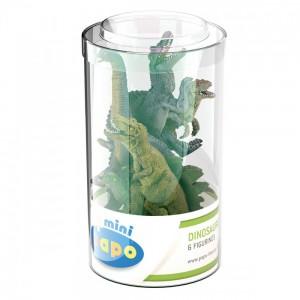 33018 Mini Tub's Dinosaures - 6 figurines