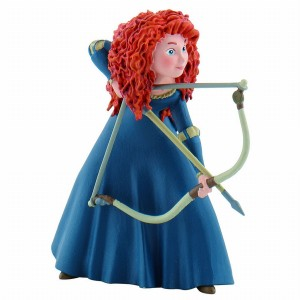 Figurine Rebelle - Merida avec arc