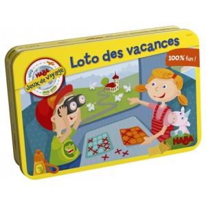 Loto des Vacances - Jeux de Voyage