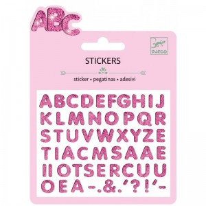 Stickers 3D ABC
