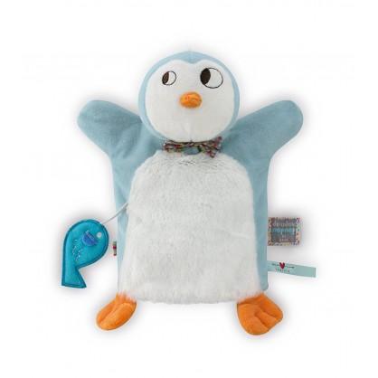 Doudou Ice Cream Pingouin Marionnette