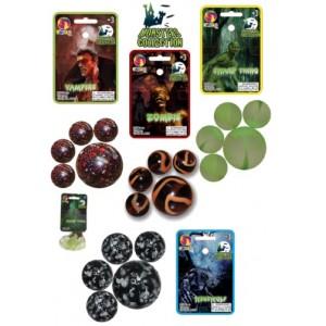 Sachet de billes 20+1 - Collection Monstres