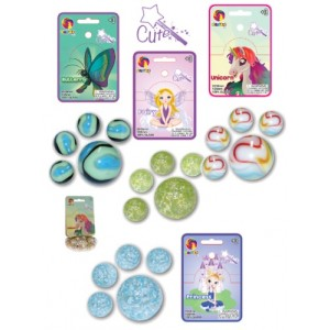 Sachet de billes 20+1 - Collection Mignonne