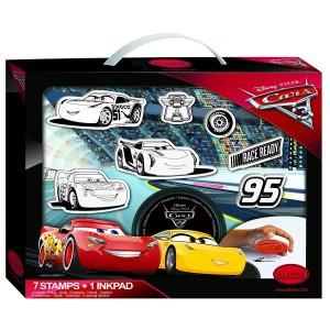 Valise de Tampons - Cars 3 Disney