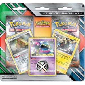 Pack 2 Boosters Alola Pokemon + 3 Cartes Promos