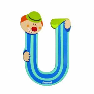 Lettre clown g r de jeux - H en majuscule ...