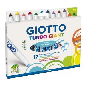 12 Feutres Turbo Giant
