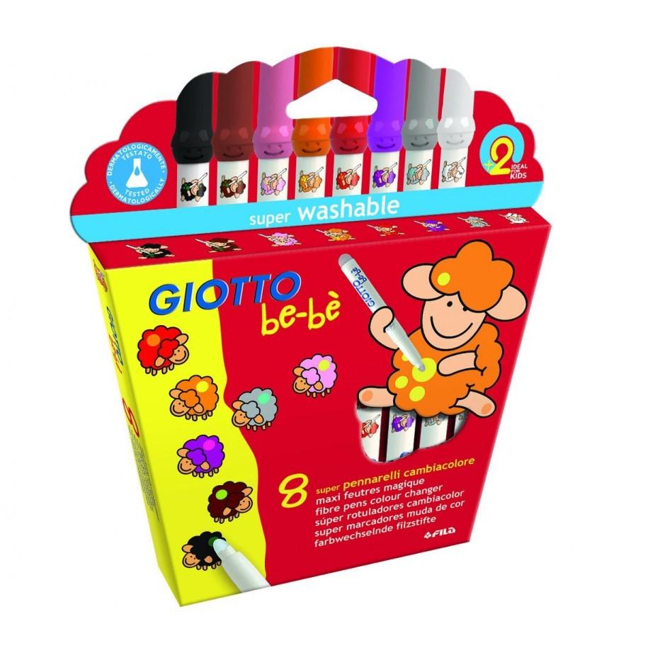8 maxi feutres magiques de coloriage - Maxi coloriage ...