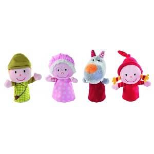 4 Marionnettes a doigts - Le Petit Chaperon Rouge