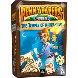 Penny Papers Adventures The Temple of Apikhabou