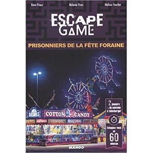 Livre Escape Game Prisonniers de la Fete Forraine