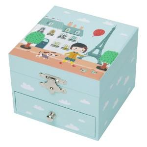 Coffret Musical Cube Ninon Parisienne