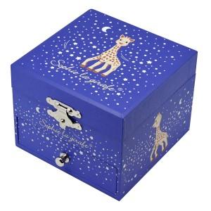 Boite a Musique Cube Phosphorescent Sophie La Girafe Milky Way