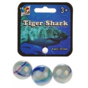 Sachet de 6 Calots Requin Tigre