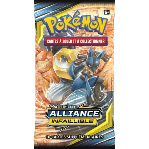 Booster Pokemon Alliance Infaillible Soleil et Lune SL10