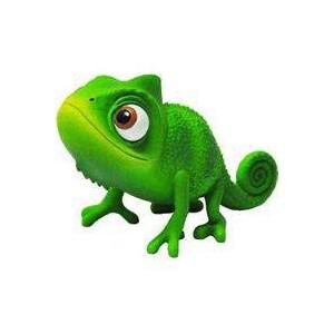 Cameleon Pascal Raiponce Disney Pixar