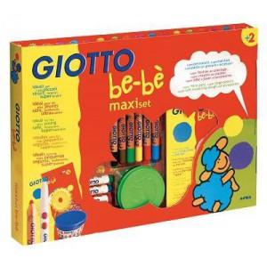 Maxi Set 24 Pieces Feutres Crayons Pates a Jouer