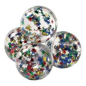 Balle magique rebondissante etoiles