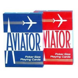 54 cartes aviator poker size