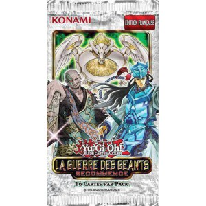 Booster yu gi oh ! la guerre des geants recommence