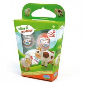 Kit pate a modeler vache et mouton