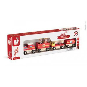 Story Train Pompiers