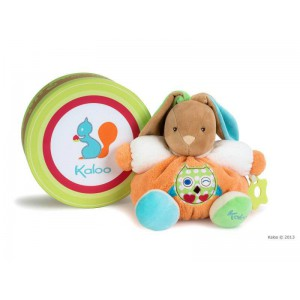 Patapouf Lapin Hibou medium - Collection Colors