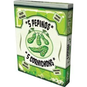 5 Cornichons - 5 Pepinos