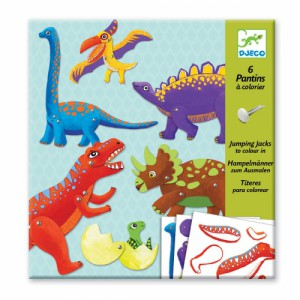 Pantins a Fabriquer - Dinosaures