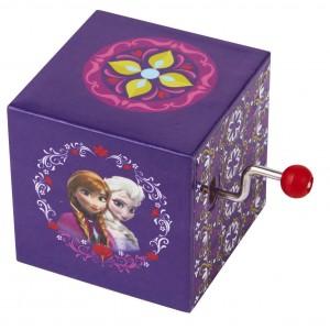 Cube Manivelle Ana La Reine des Neiges
