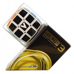 V Cube 3 Bombé 3x3 - Fond Noir pas cher