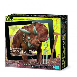 Kit ADN Dinosaure Triceratops Fluorescent