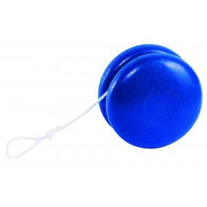 Yo-Yo en bois Bleu